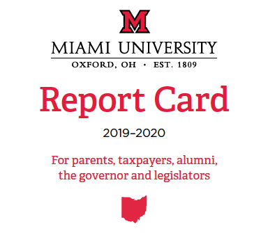 Cover of the 2019-2020 Report Card