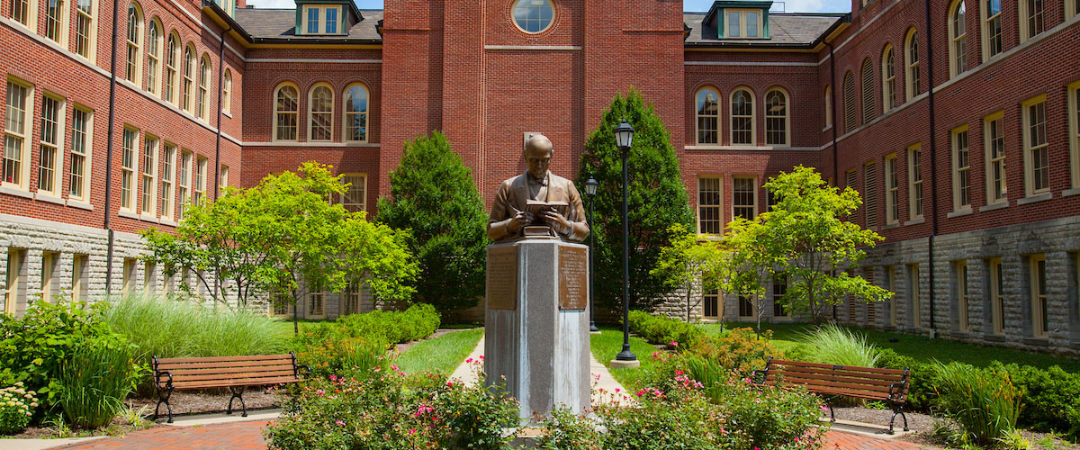 William H. McGuffey statue