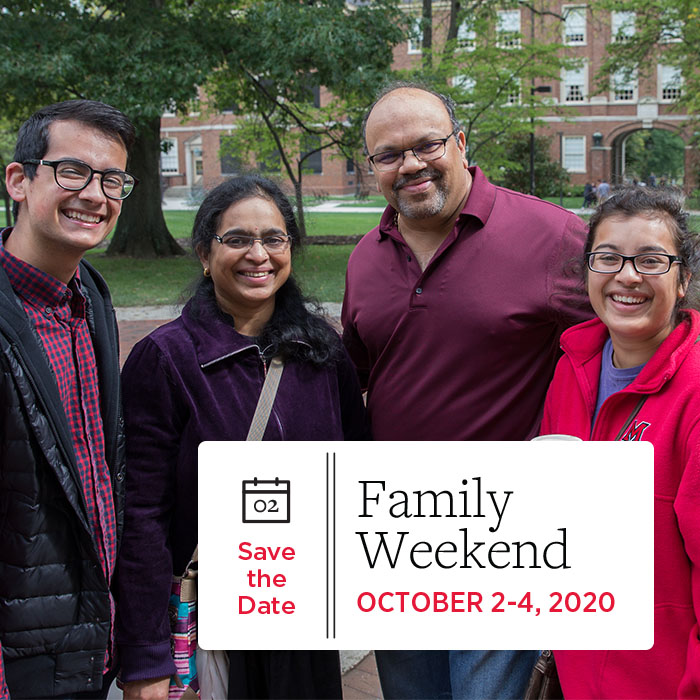 Family Weekend 2020: October 2-4