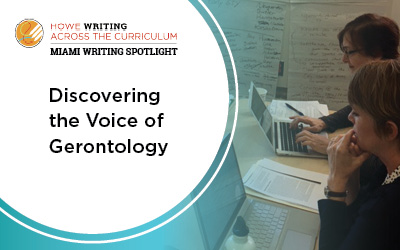 discovering the voice of gerontology