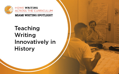 Teaching writing innovatively in history