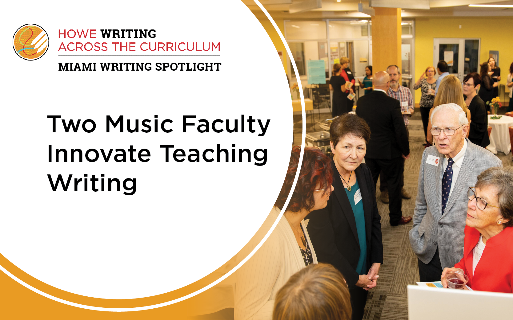 Two Music Faculty Innovate Teaching Writing