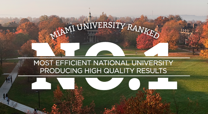 Most efficient national university