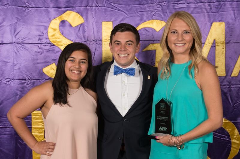 Pi Sigma Epsilon winners