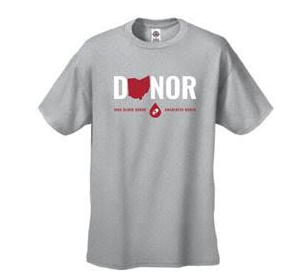 Ohio Blood Donor Awareness Month T-shirt