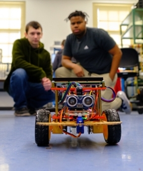 Miami's department of electrical and computer engineering is in the process of developing a bachelor's degree in robotics engineering.  The goal is to gain state approval in the fall, said Clark Kelly, assistant dean of external relations and communications for the College of Engineering and Computing.
