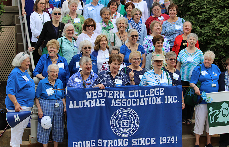 Western College for Women alumnae gathered during the 2019 reunion weekend.