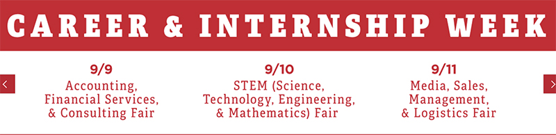 Career Fair Week Events