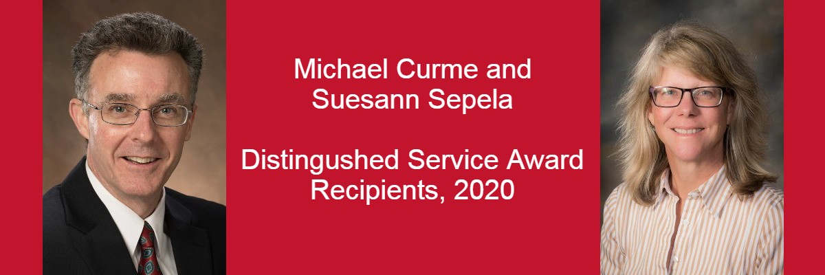 Mike Curme and Sue Sepela