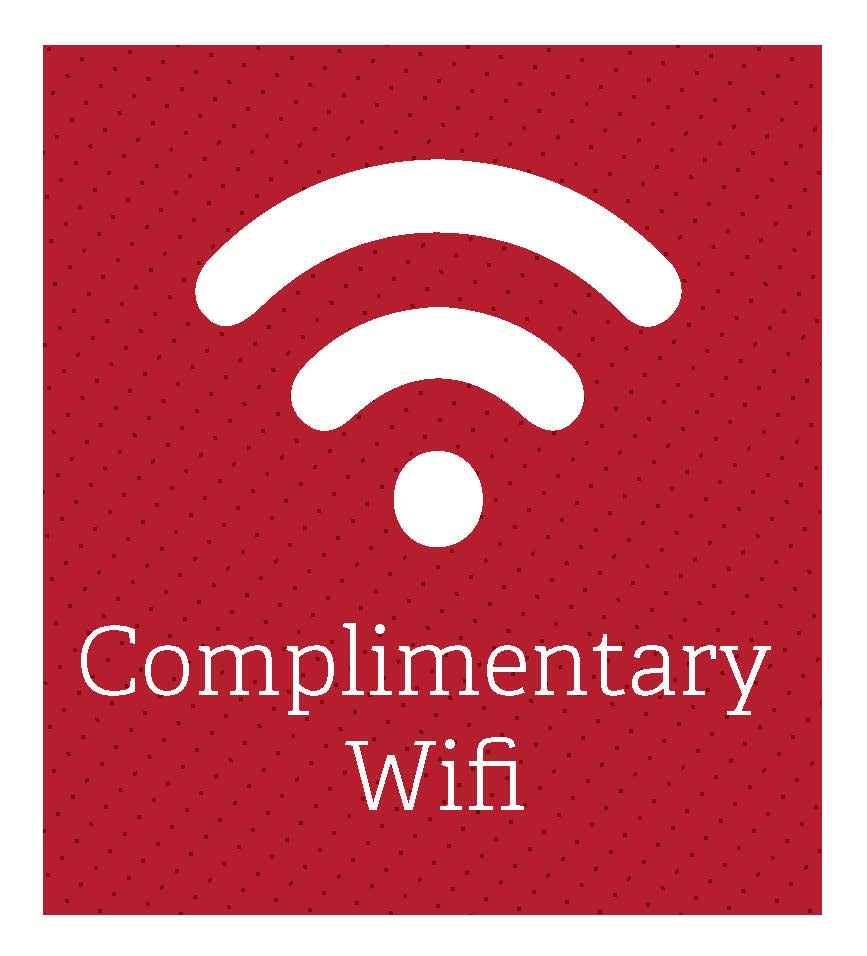 Complimentary wifi