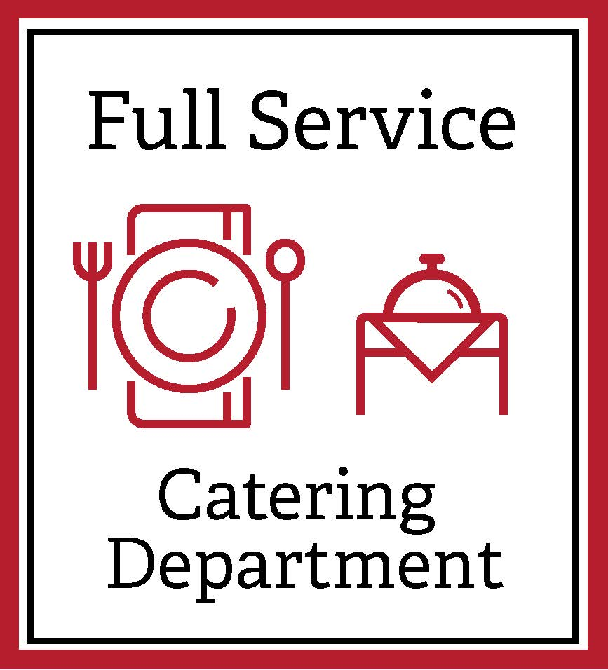 Full service catering department