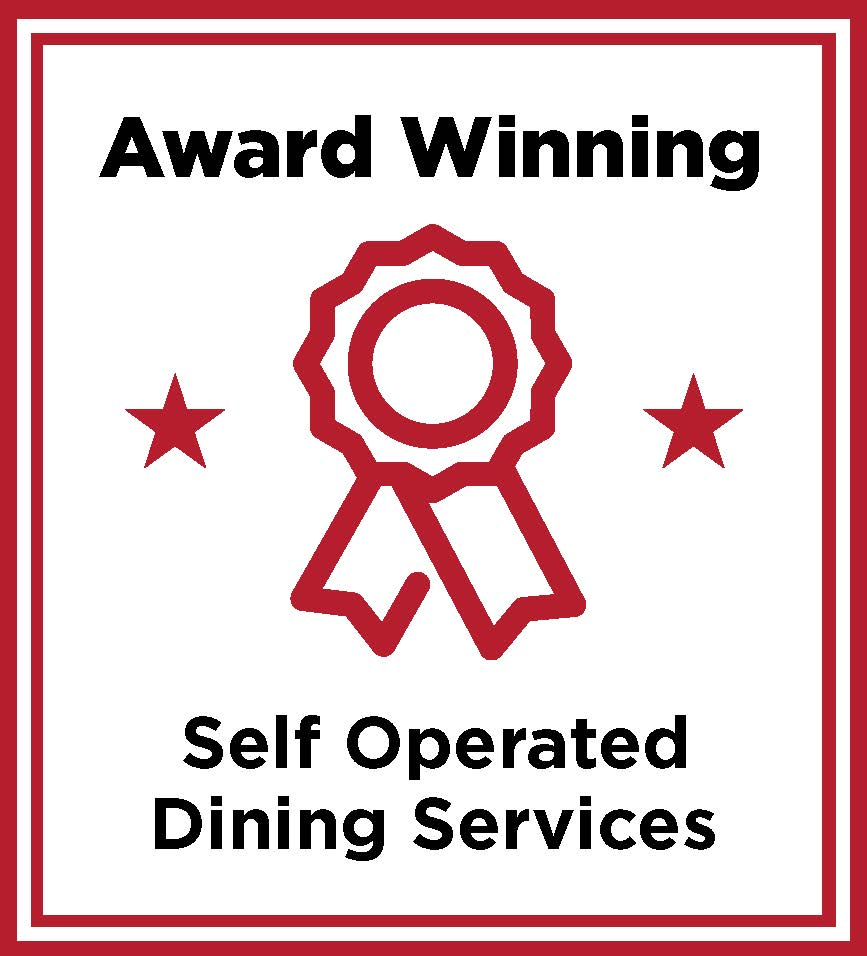 Award winning self operated dining services