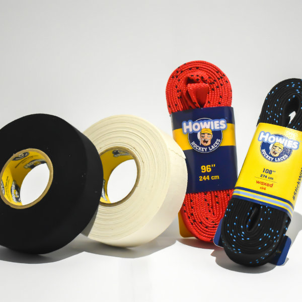 Hockey tape and laces