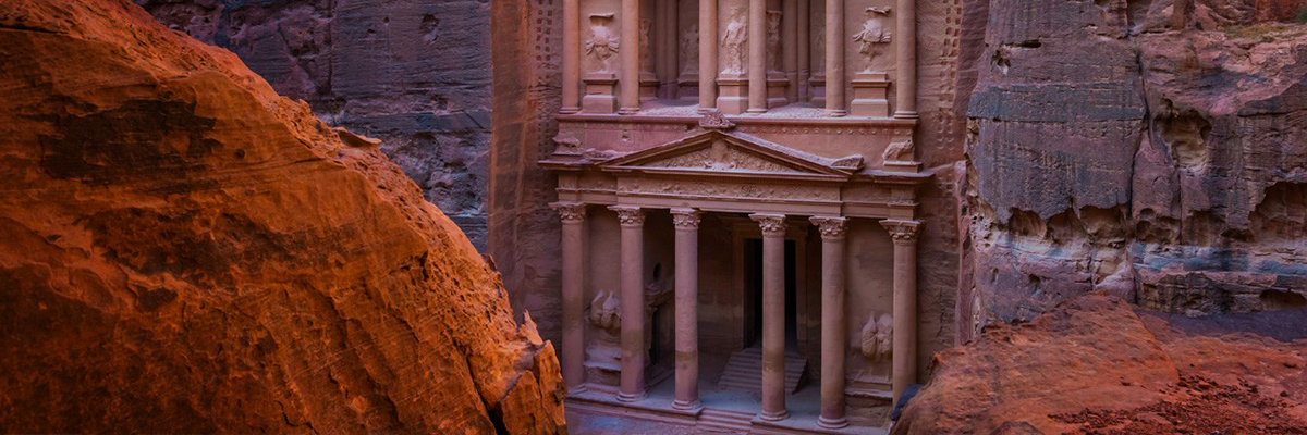 The Ruins of Petra