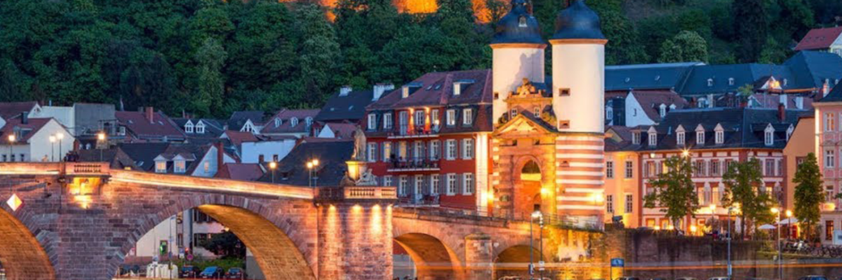 Heidelberg Bridge Over the Neckar