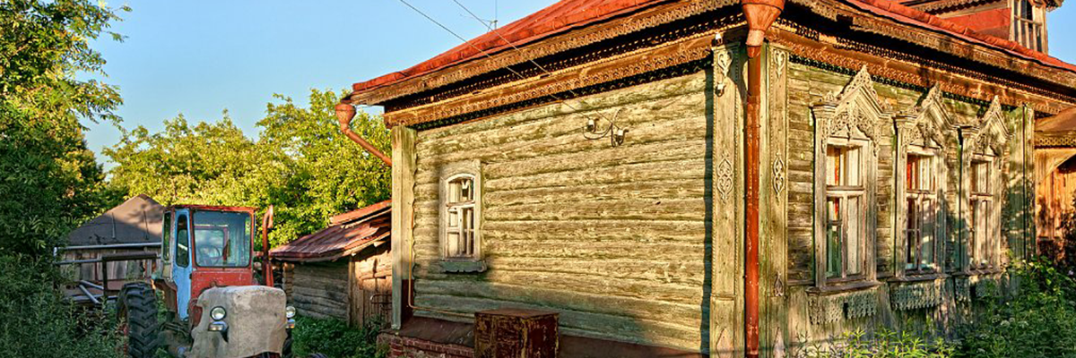 Traditional Dacha North of Moscow