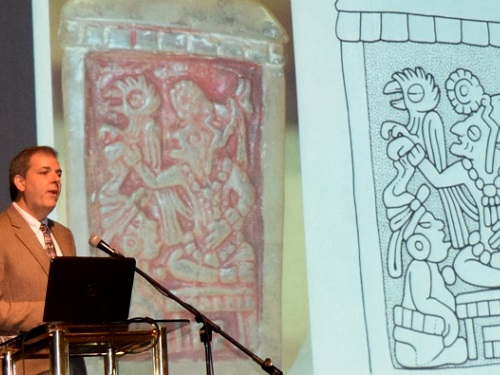 Prof. Card's Mayan Discovery Touted In El Salvador