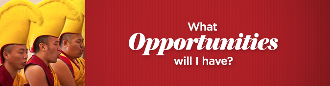 What opportunities will I have?