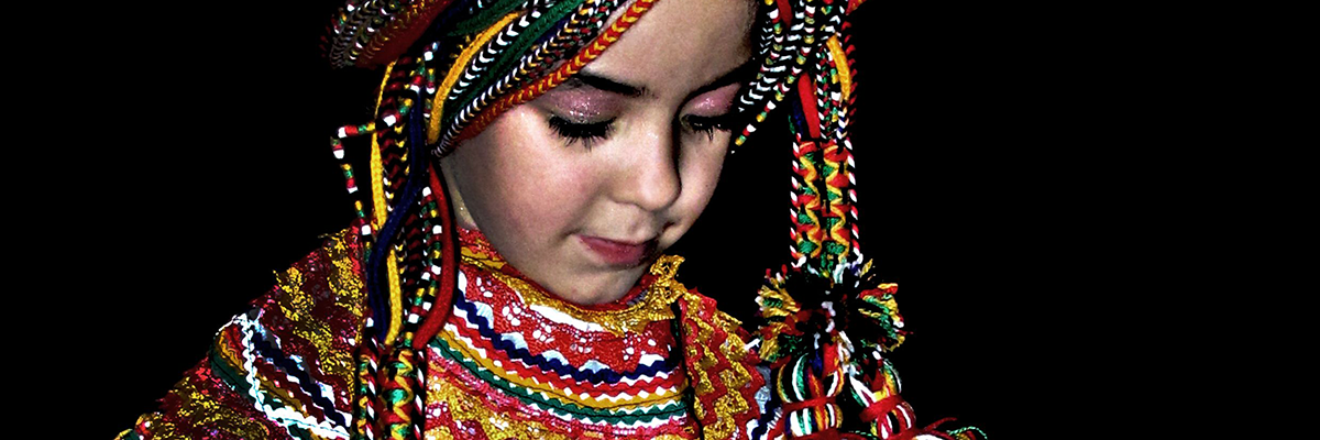 Algerian Girl in native dress