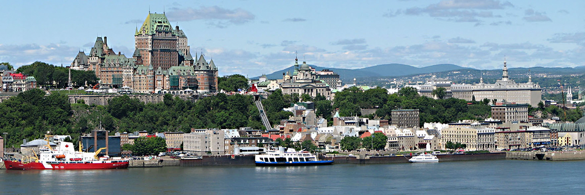 Quebec City Cityscape