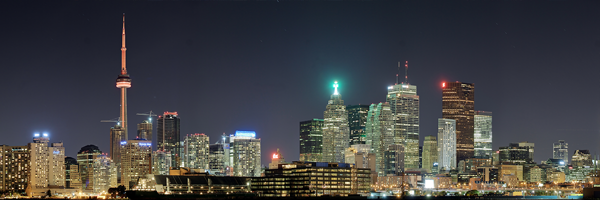 Toronto Cityscape at Night