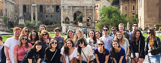 Luxembourg students visit Rome