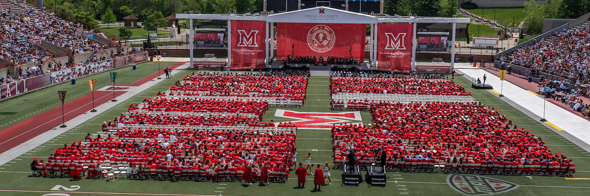 Commencement at Yager Stadium