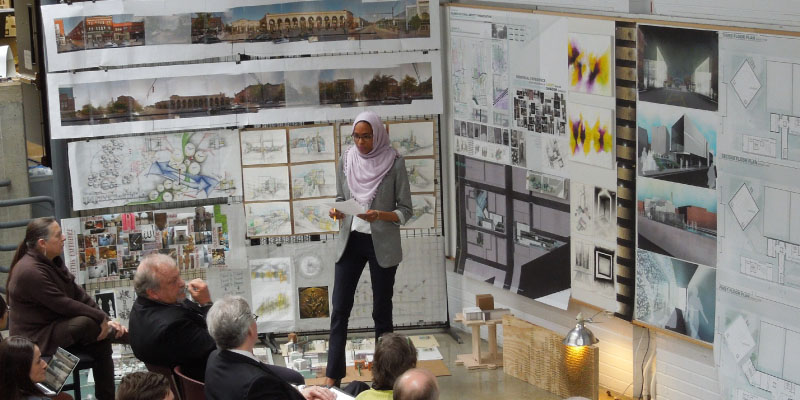 Nada Shuaib presents thesis