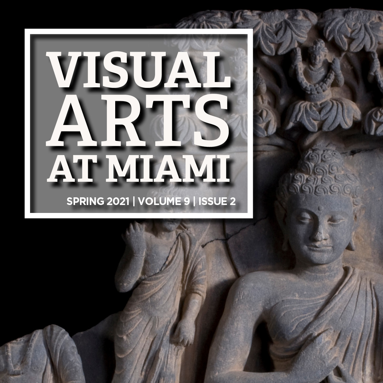 Visual Arts at Miami Magazine cover