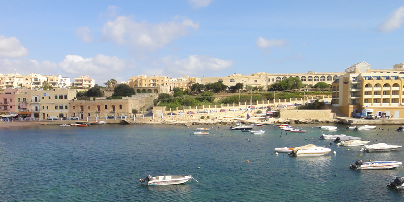 Seaside view in Malta