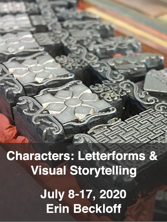 Characters: Letterforms & Visual Storytelling