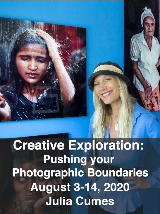 Creative Explorations: Pushing Your Photographic Boundaries-Julia Cumes