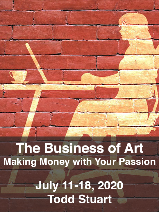 The business of Art. July, 2020. Todd Stuart