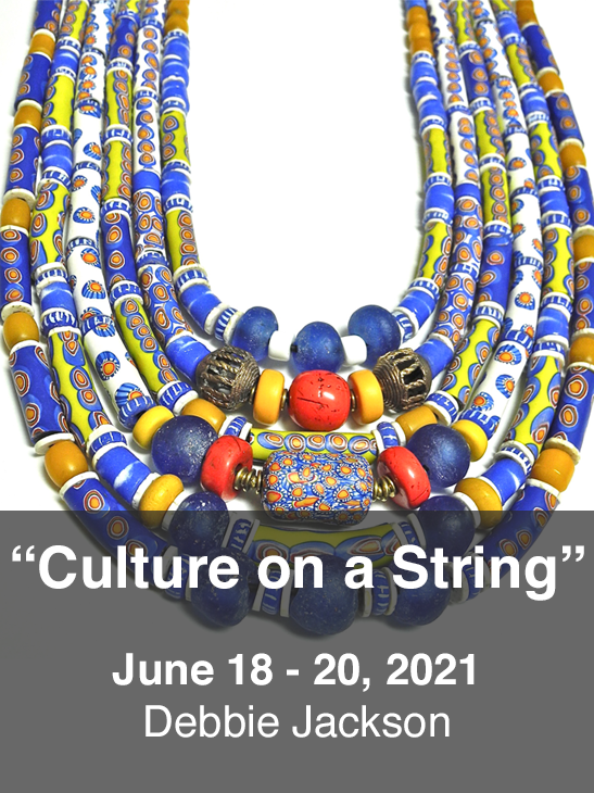 'Culture on a String'. Debbie Jackson