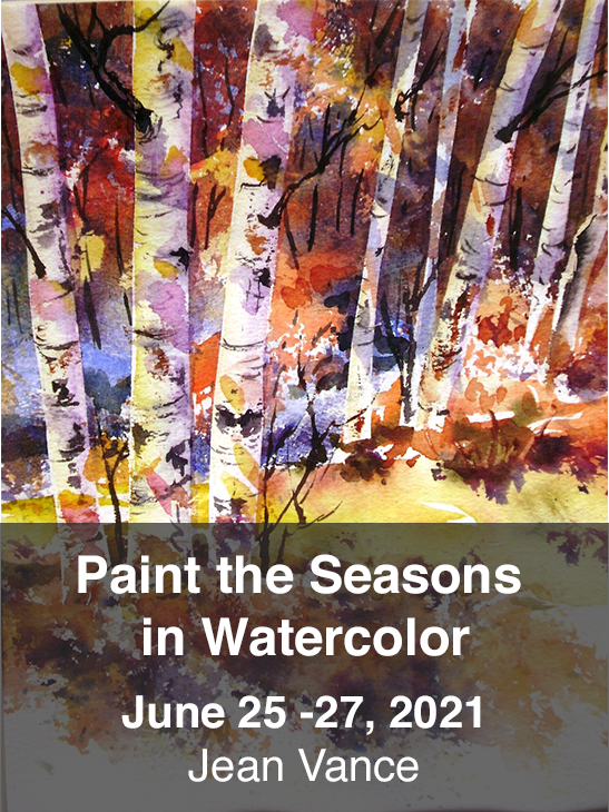 Paint the Seasons in Watercolor. Jean Vance