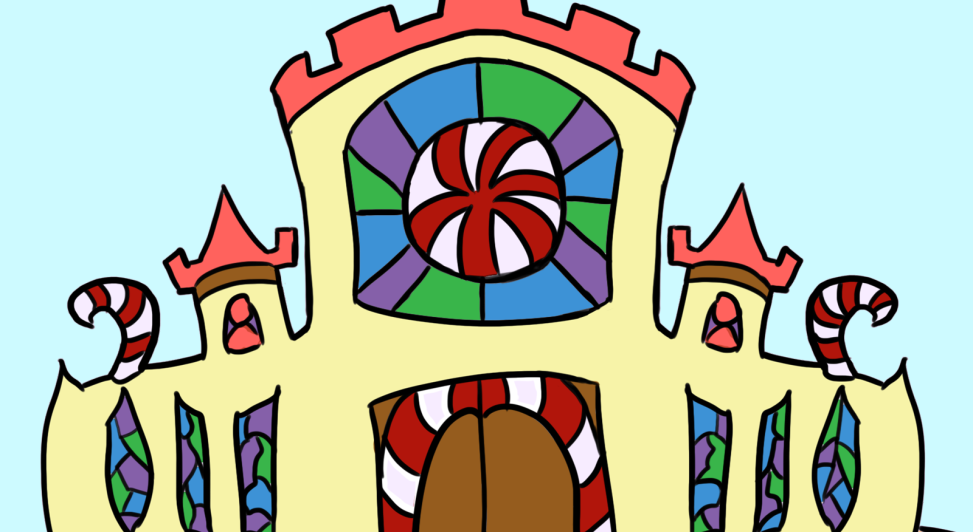 Candy Knights castle