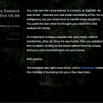 Essence of Evil game screen