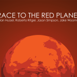 Scene from Race to the Red Planet game