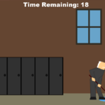 Scene from Janitor game