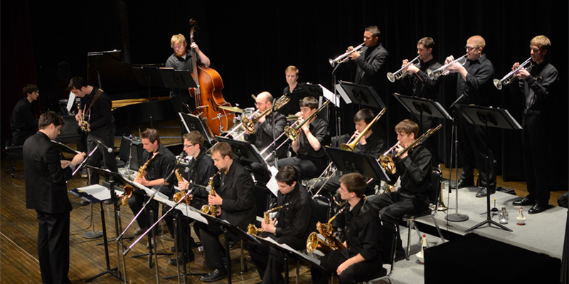 The Jazz Ensemble in concert