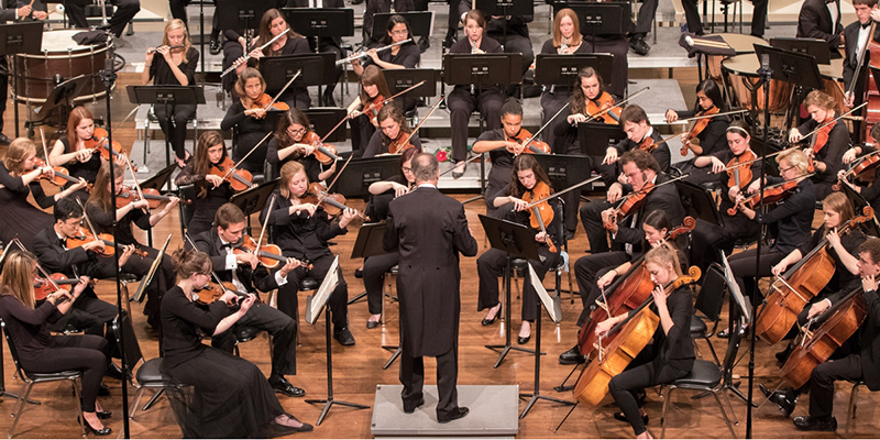 Miami Symphony Orchestra performs at Hall Auditorium