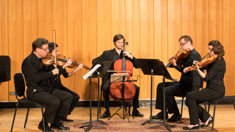Oxford String Quartet recital at Souers