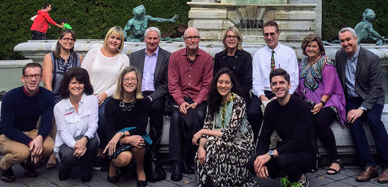 Members of the CCA Advisory Board in NYC, Fall, 2016