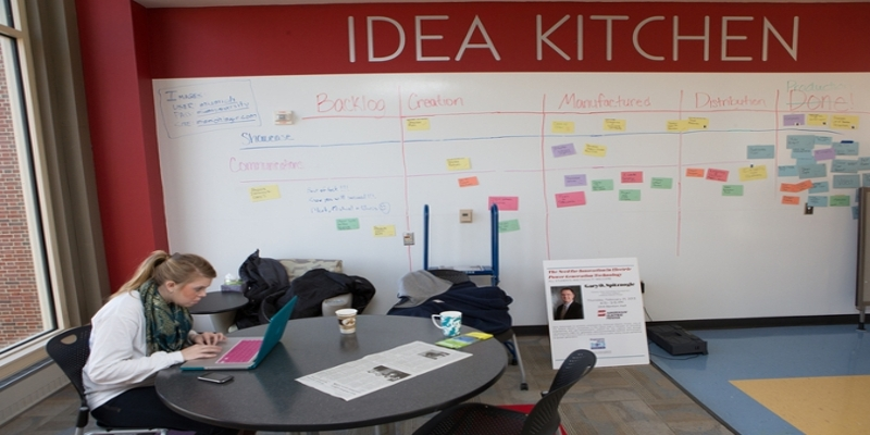 Idea Kitchen in Lockheed Martin Leadership Institute