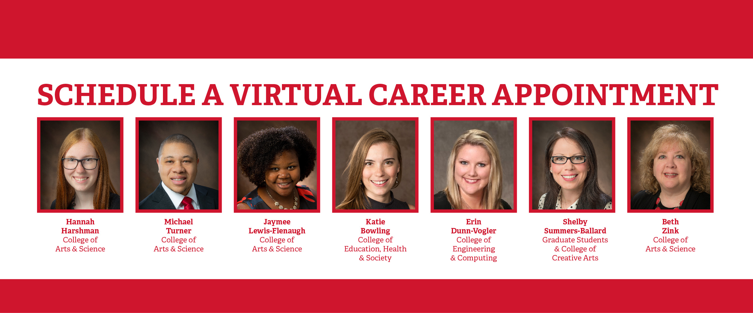 Schedule a virtual career advising appointment on Handshake
