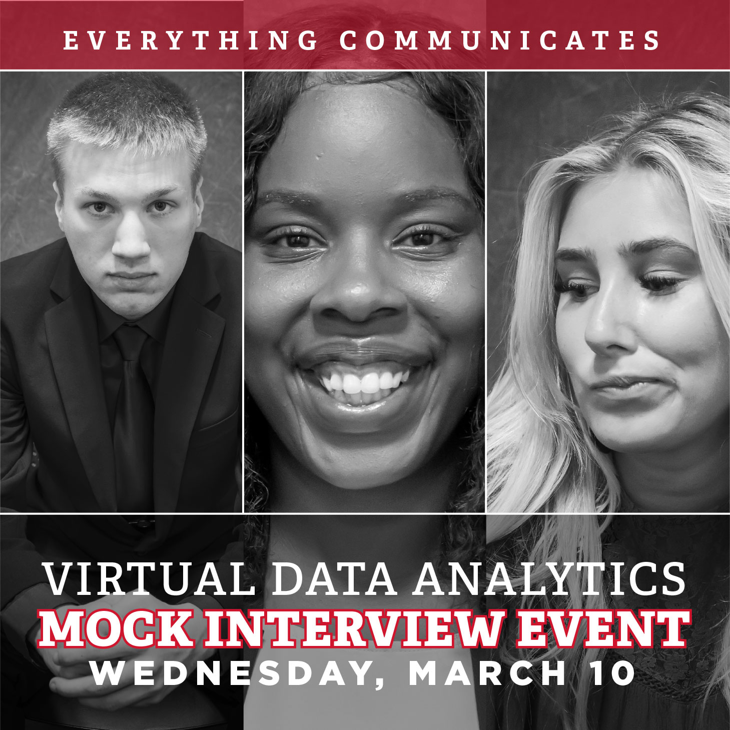 Register for the Virtual Data Analytics Mock Interview Event on March 10