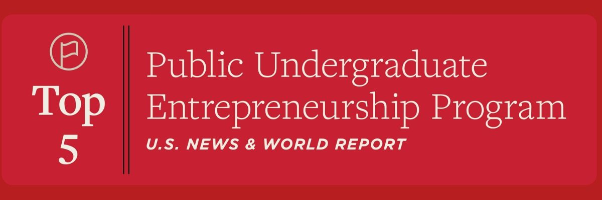 Institute for Entrepreneurship ranked No. 5 in the latest Princeton Review rankings for 2020