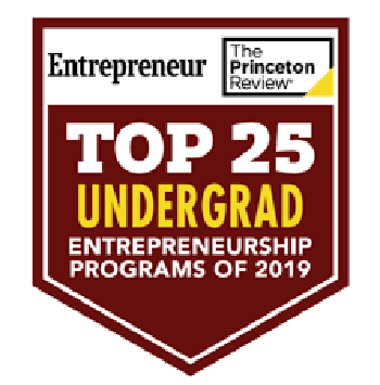Top 25 undergrad entrepreneurship programs of 2019 - The Princeton Review