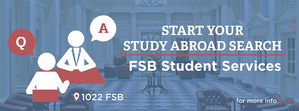 FSB student services banner