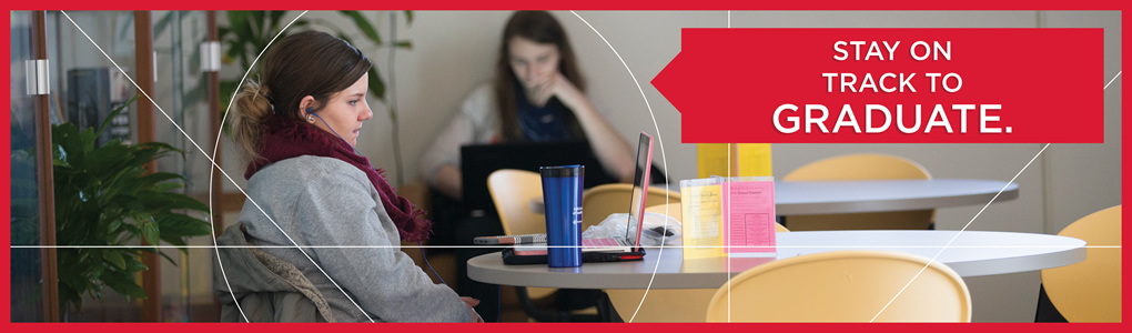 Miami Regionals students studying in study area. Stay on track to graduate.